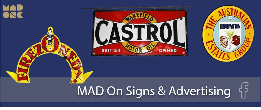 signs and ad